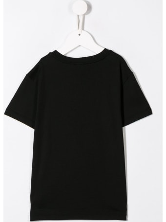 Dolce & Gabbana Cotton T-shirt With Front Logo