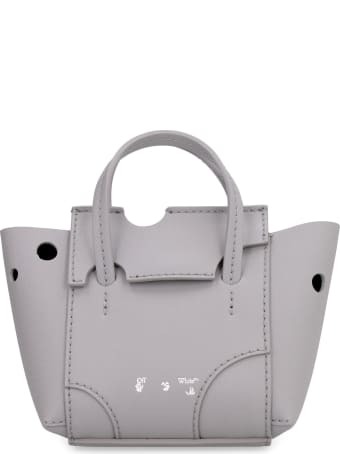 Off-White Burrow Perforated Leather Bag
