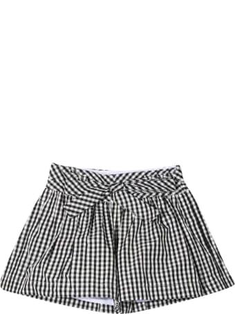 Monnalisa Checked Shorts