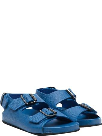 Gallucci Blue Buckle Sandals