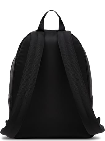 Givenchy Essential Backpack In Black Nylon With Logo