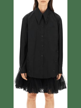 Simone Rocha Shirt With Beads Embellishment