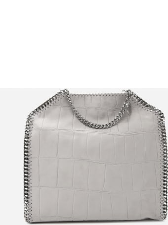 Stella McCartney Falabella Croc Effect Tote Bag