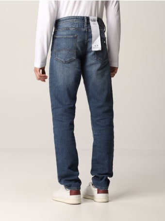 Armani Collezioni Armani Exchange Jeans Skinny Fit Stretch Zip Denim