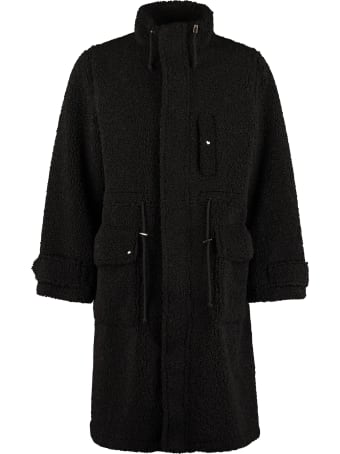 STAND STUDIO Brendan Faux Fur Coat