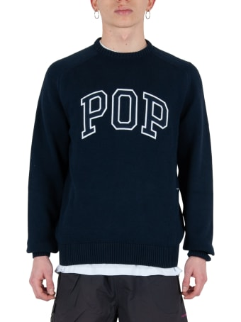 Pop Trading Company Arch Knitted Crewneck