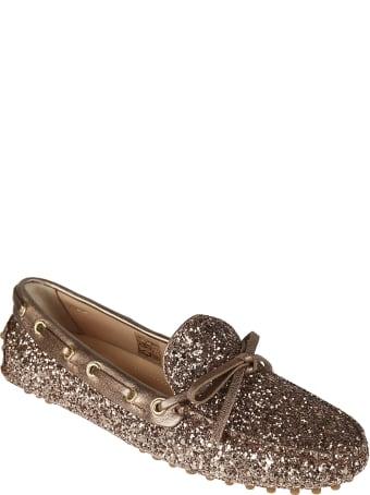Car Shoe Glitter Applique Loafers