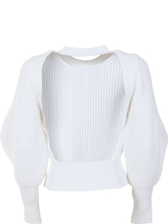 WANDERING Bare Neck Knit