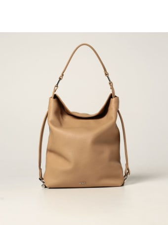 Rodo Handbag Angy Rodo Bag In Hammered Leather