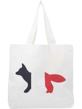 Maison Kitsuné 'tricolor Fox' Bag