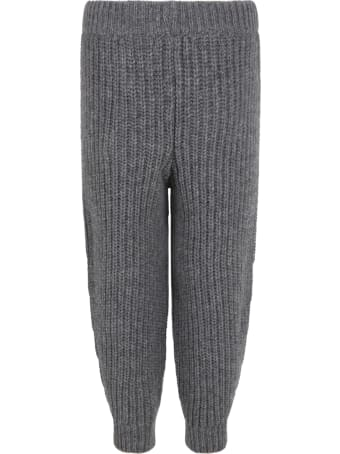 The New Society Grey ''easy'' Trouser For Kids