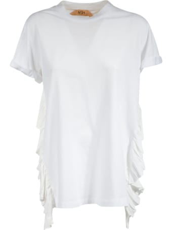 N.21 Ruffle Detail 5d T-shirt