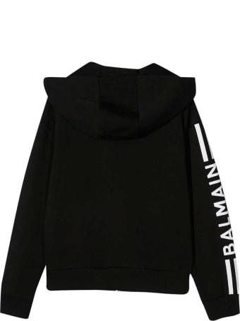Balmain Zip Sweatshirt