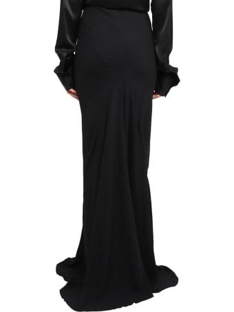 Haider Ackermann Black Siren Skirt