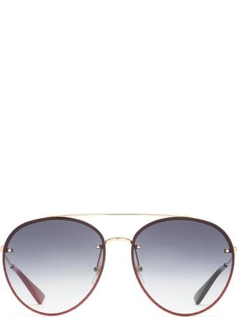 Gucci Gucci Gg0351s Gold Sunglasses