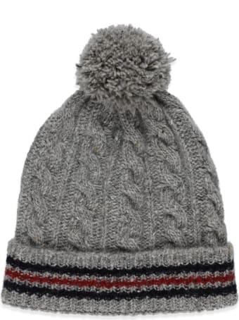 Thom Browne Wool Pom Pom Hat
