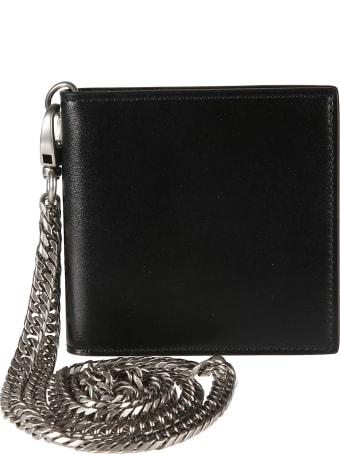 Alexander McQueen Chain Detail Wallet