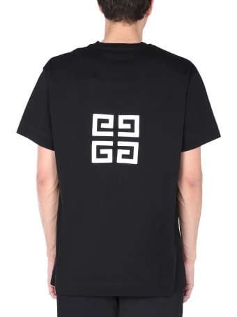 Givenchy T-shirt With Embroidered 4g