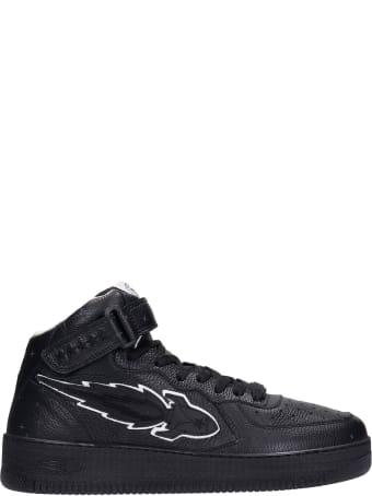Enterprise Japan Sneakers In Black Leather