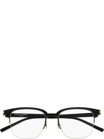 Saint Laurent Saint Laurent Sl 189 Slim Black Glasses