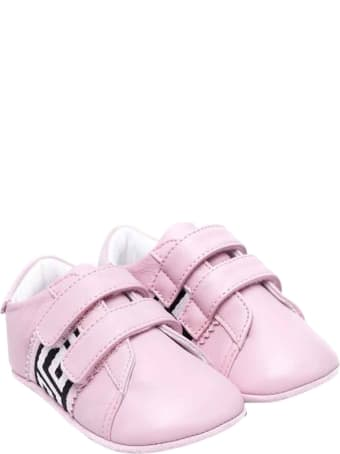 Versace Young Newborn Pink Shoes