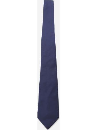 Lanvin Monochrome Tie Made Of Silk