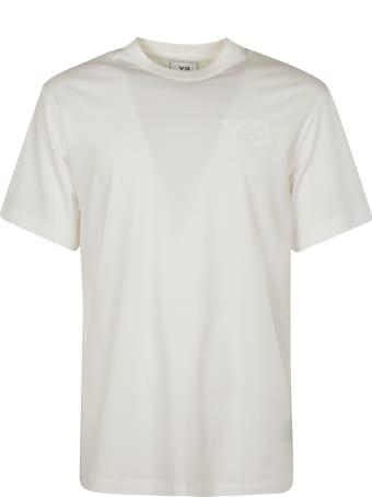Y-3 Chest Logo Print T-shirt