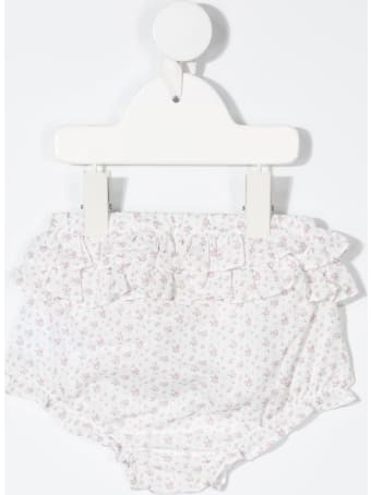 Tartine et Chocolat Floral Cotton Shorts With Ruffles Detail