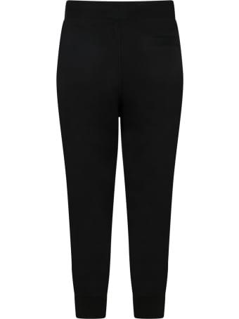 Ralph Lauren Black Sweatpant For Kids With Pony Logo