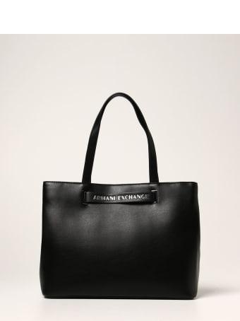 Armani Collezioni Armani Exchange Tote Bags Shoulder Bag Women Armani Exchange