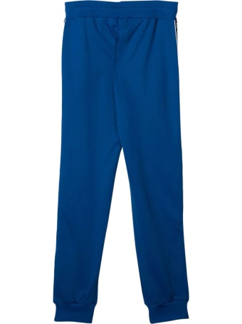 Givenchy Blue Trousers With Side Band