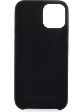 Dsquared2 Iphone 12 Pro Black Cover With Logo