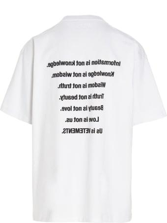 VETEMENTS 'us Is Vetements' T-shirt