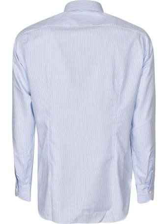 Luigi Borrelli Fabio Stripe Long-sleeved Shirt