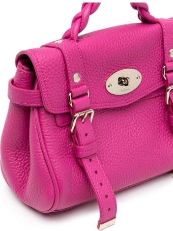 Mulberry Mini Alexa Heavy Grain Leather Crossbody Bag