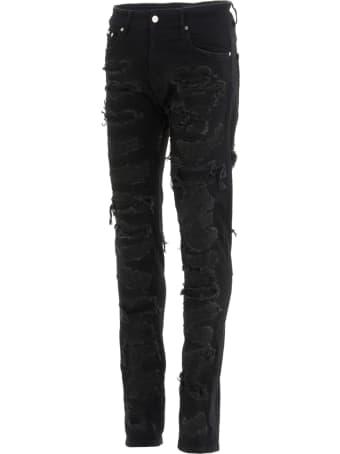 REPRESENT 'shredded' Jeans