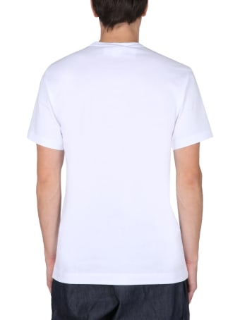 Comme des Garçons Shirt Crew Neck X Kaws T-shirt