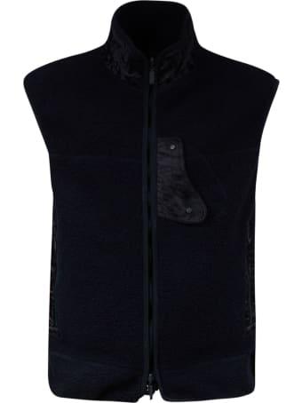 Christian Dior High Neck Zipped Gilet
