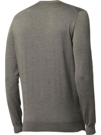 Cruciani Green Wool Sweater