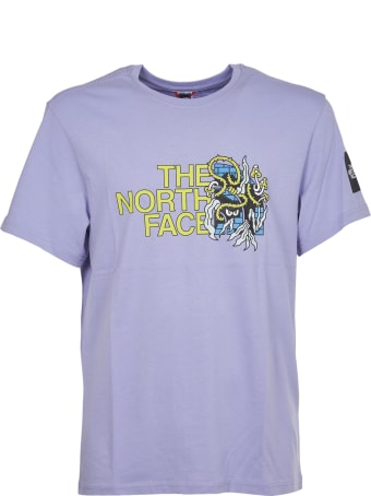 The North Face Lavender Grafic Print T-shirt