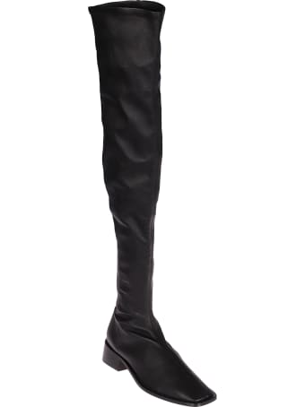Neous Pros Overknee Stretch Leather 35mm Boots