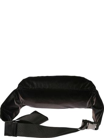 Dolce & Gabbana Front Zip Logo Plaque Belt Bag