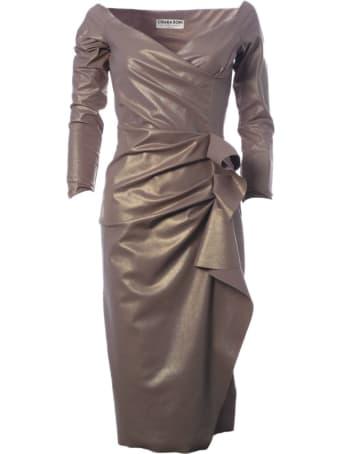 La Petit Robe Di Chiara Boni Silveria Lame Dress