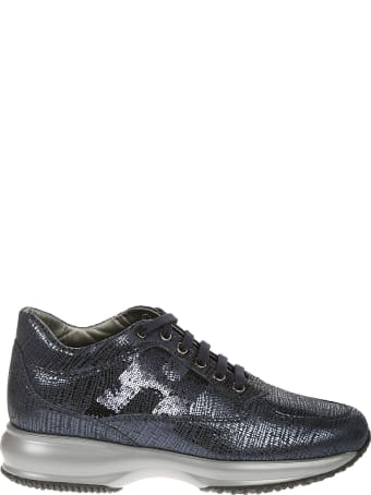 Hogan Interactive Sequin-coated Sneakers