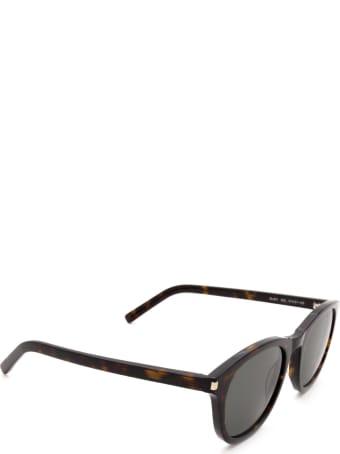 Saint Laurent Saint Laurent Sl 401 Havana Sunglasses