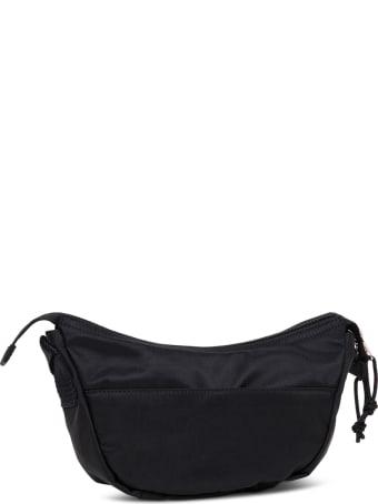 Balenciaga Black Nylon Belt Bag With Logo