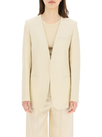 Totême Collarless Blazer