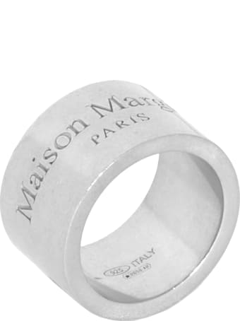 Maison Margiela Silver Band Ring