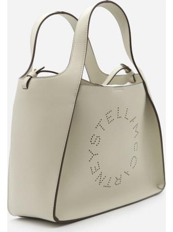Stella McCartney Vegan Leather Tote Bag With Perforated Logo Detail