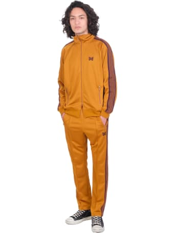 Needles Sweatshirt In Yellow Polyester